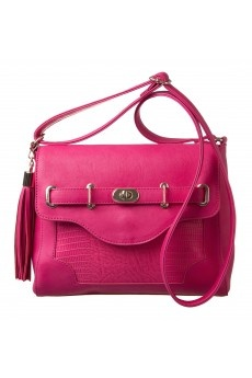 Harriet Turnlock Small Bag in BERRY #9421 - colette by colette hayman