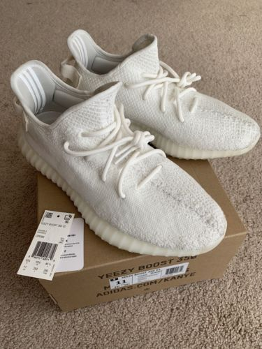 9c61f2cecd09f Details about Adidas Yeezy Boost 350 V2 CREAM Triple White CP9366 ...