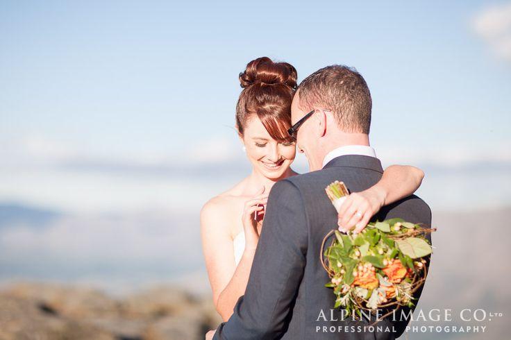 Wedding Hair, Bridal Hair, Queenstown Wedding, Destination Wedding, Mountain Weddings, Queenstown wedding photography by @alpineimageco, wedding planner - Boutique Weddings New Zealand, Hair by @saraWeddingHair