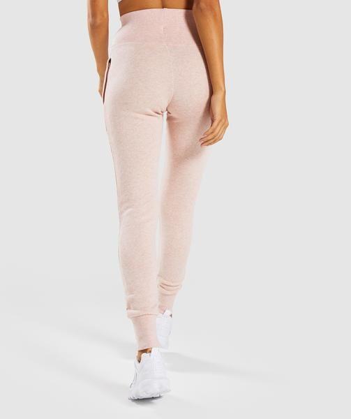 b77e15a0da59a Gymshark High Waisted Joggers - Blush Nude Marl in 2019 | Squat down ...