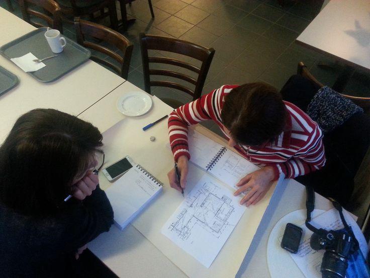 Mobiili toimisto Cafe Liljassa - tässä hyvä kokouspaikka Liljendalin päässä Kuva: Saara Gröhn