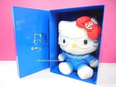 Rare! Sanrio Limited Edition Box Set Sailor Costume Hello Kitty Plush