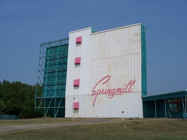Springmill Drive In Mansfield Ohio Showtimes