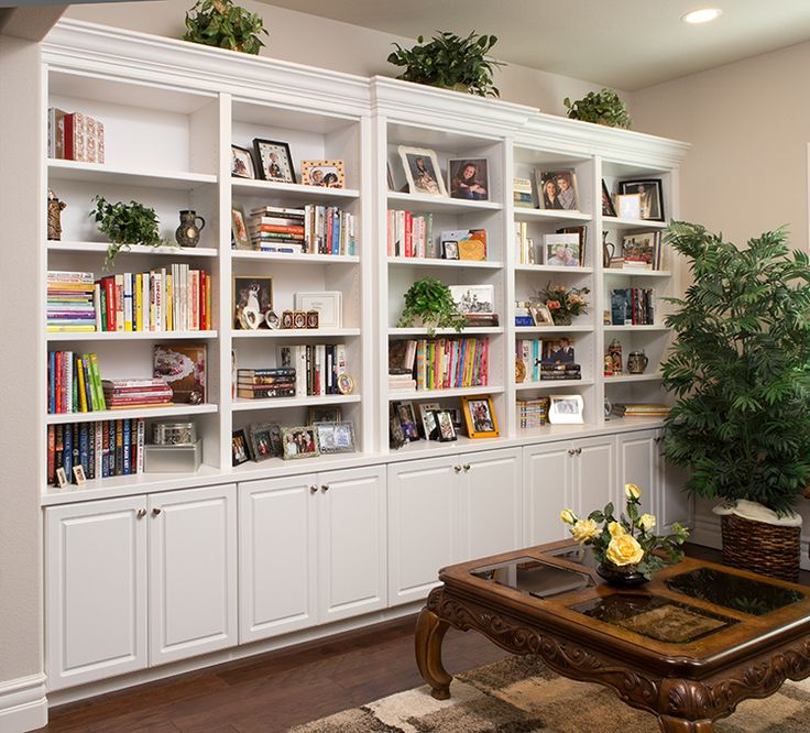 Adjustable Bookshelves, A Painted Countertop, And Crown Molding Prove That  Sleek Lines Are Fashion Forward In By Closet Factory Sacramento.