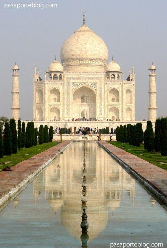 Taj Mahal, una de las siete maravillas del Mundo. Viaje a la India »