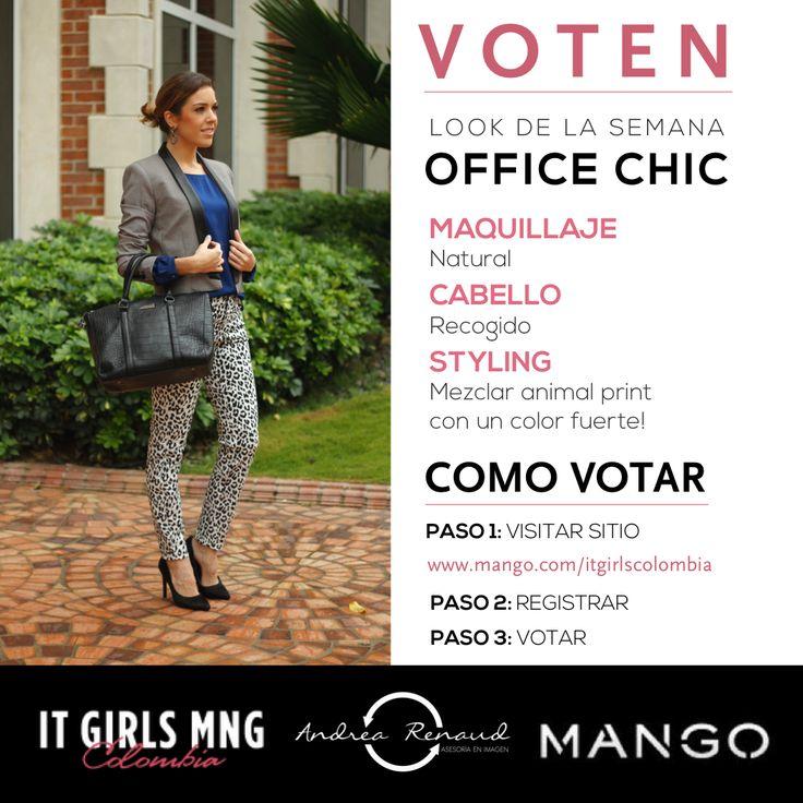 Office Chic Mango Look