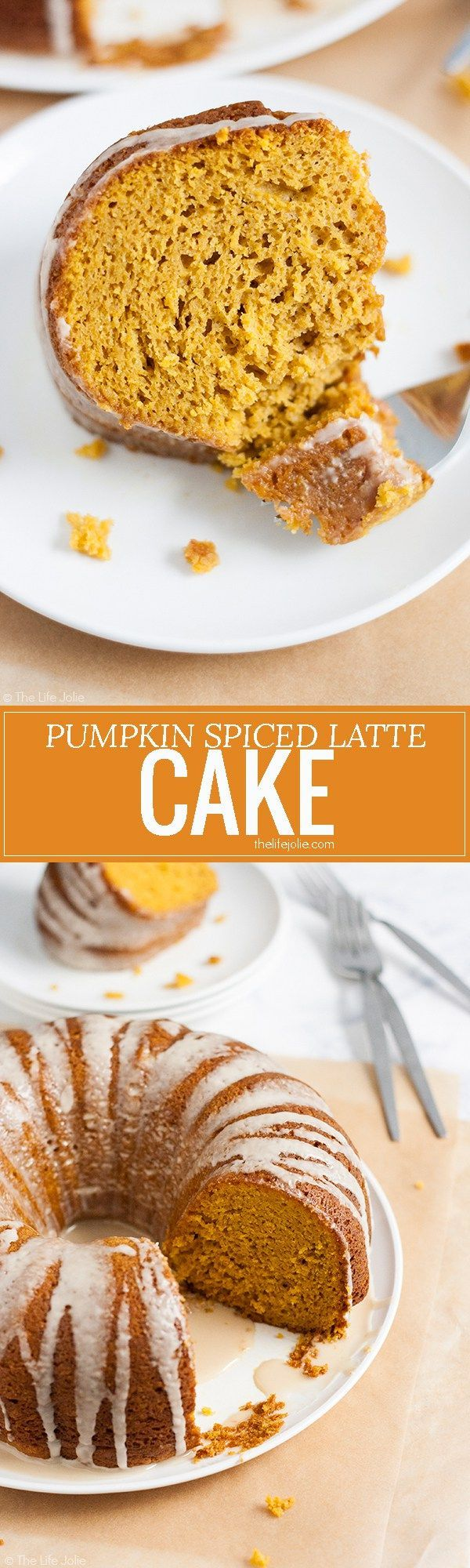 This Pumpkin Spice Latte Cake recipe is the absolute best! Delicious pumpkin spice and subtle coffee flavor combine into the most moist, addictive cake you'll find. Best of all, it's a cake mix hack so it's super easy to make (and your guests will never k