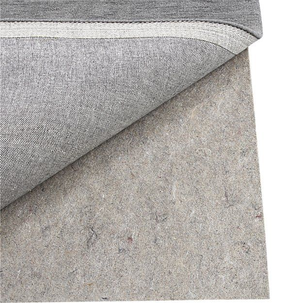 Multisurface 8'x10' Thin Rug Pad | Crate and Barrel