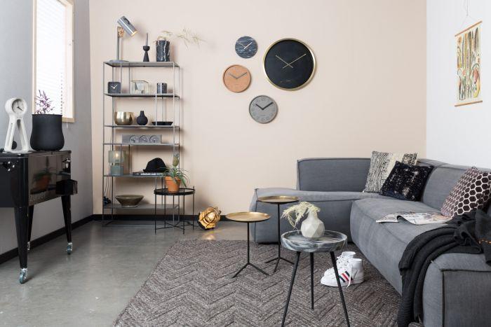 Zuiver Kast Son Grijs Metaal - DesignOnline24