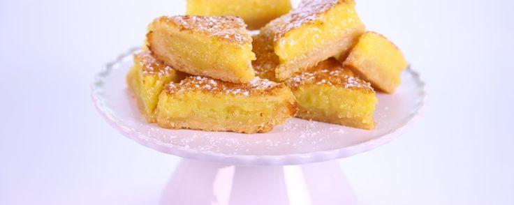 Carla Hall's Triple Lemon Bars Recipe | The Chew - ABC.com