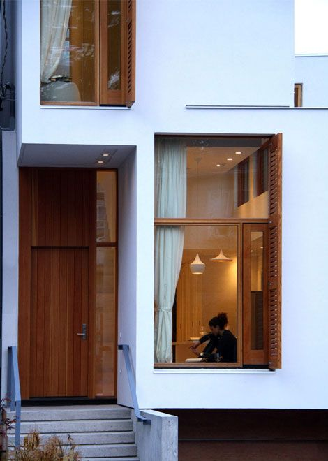 Designed for Life., cabbagerose: narrow and deep infill house/ja...