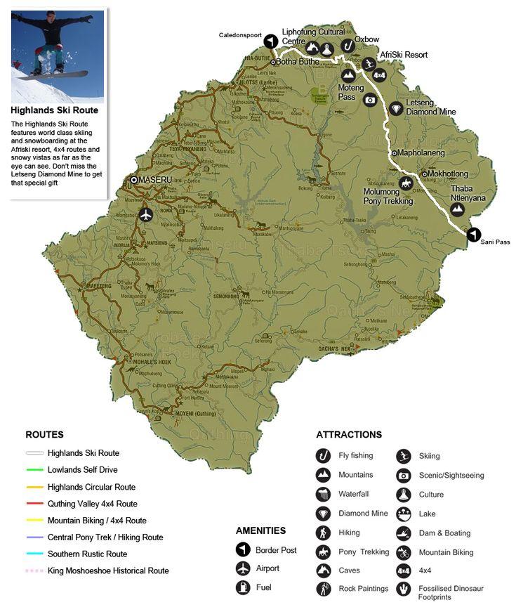 Esquí en Lesotho: más alla de los safaris de leones está la estación de esquí de Afri-Ski | Lugares de Nieve
