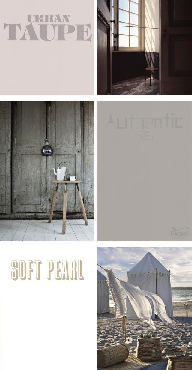 23 best images about muren in kleur on pinterest - Kleur taupe ...