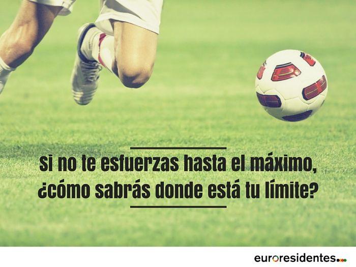 Resultado de imagen para frases de motivacion para niños futbolistas