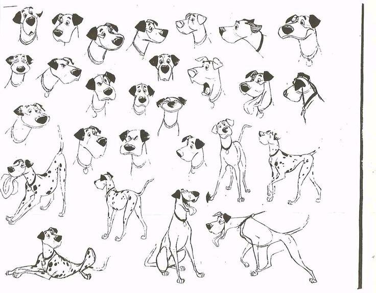101 Dalmatians: Concept Sheet, Concept Art, Disney Art, Character Design, Art Character, 101 Dalmatians, Design Reference, Conceptart Modelsheet