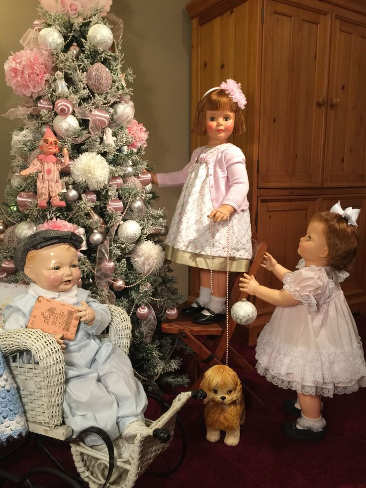 "1924 effanbee ""bubbles"" composition doll, with 1960 ideal patti play pal and 28"" saucy walker"