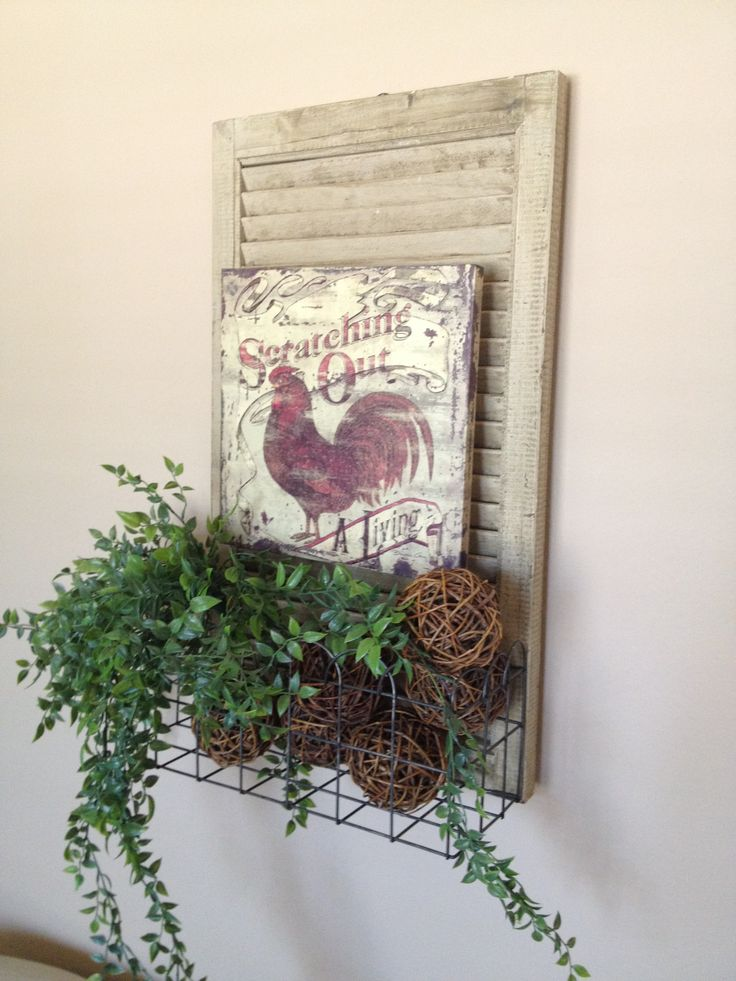 1000 Images About Shutter Decor On Pinterest Old