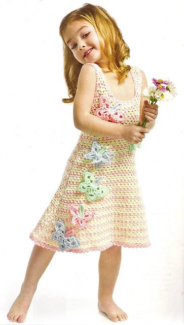 Ravelry: Butterfly Dress pattern by Kim Rutledge...cant wait to make it for a cute little girl!!!!! :) :)