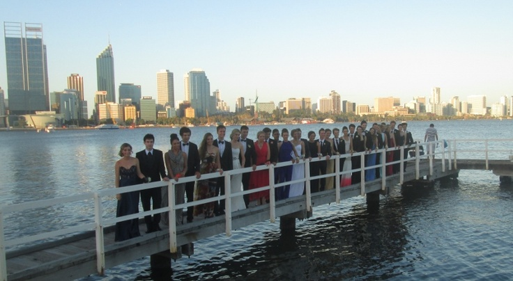 School Ball Photos at South Perth Foreshore