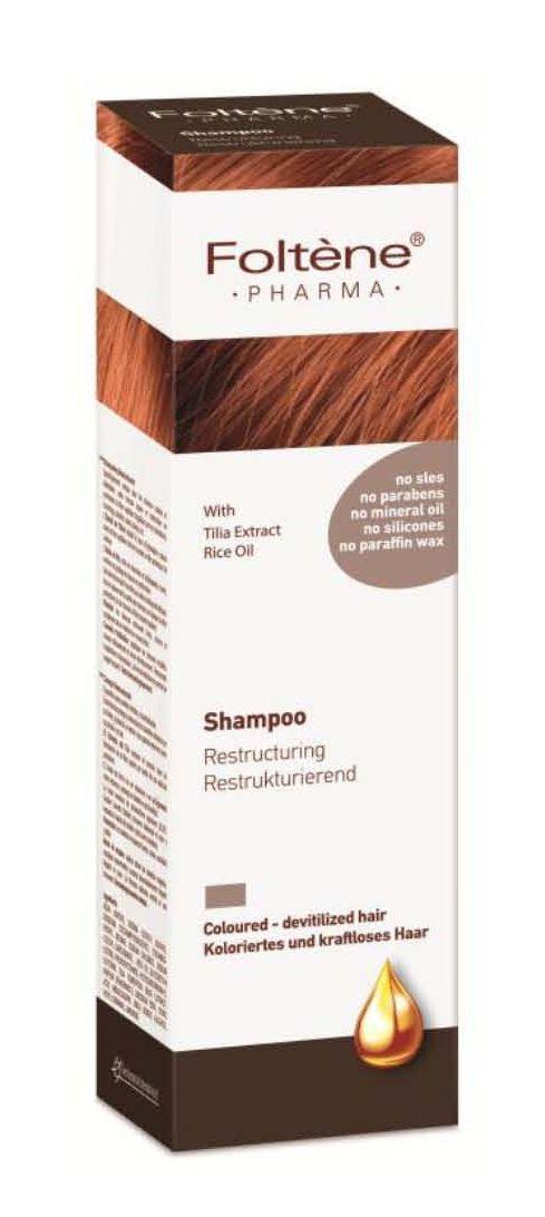 Foltene Pharma Szampon restrukturyzujący do włosów farbowanych, zniszczonych