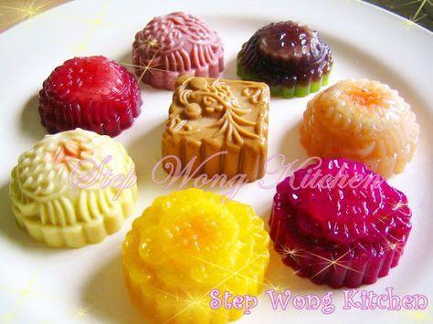Step Wong Kitchen: 水晶月饼
