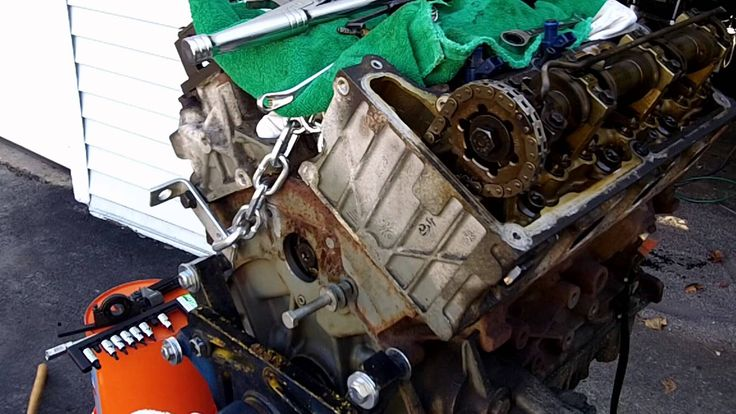 2002 Ford Explorer Timing Chain update 12152012 Rear