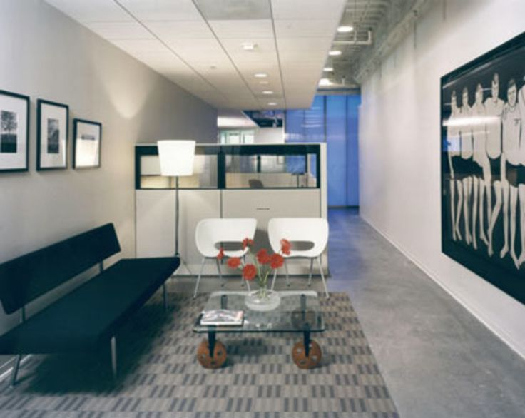 Mix Of Chairs | Office Waiting Room Design, Moca Office Design