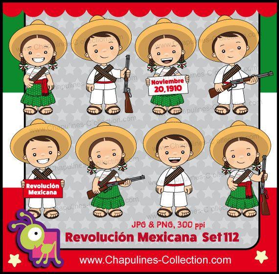 60% de desc. Clipart Revolución Mexicana indios y adelitas