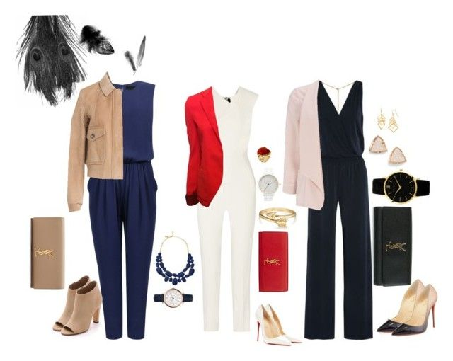 """3 favourite jumpsuits "" by moniquebovino on Polyvore"