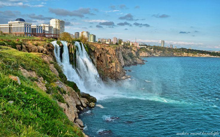Düden Şelalesi Falezler Antalya #antalya