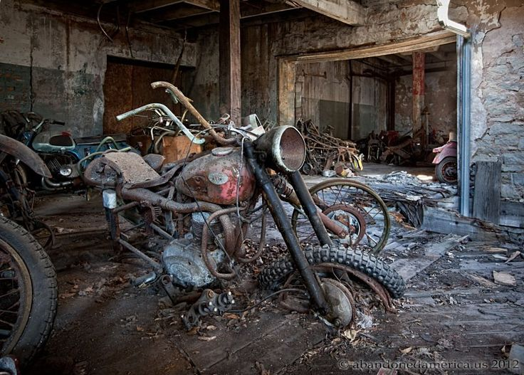 Kohl's Motorcycle Salvage, Lockport NY - Matthew Christopher's Abandoned America