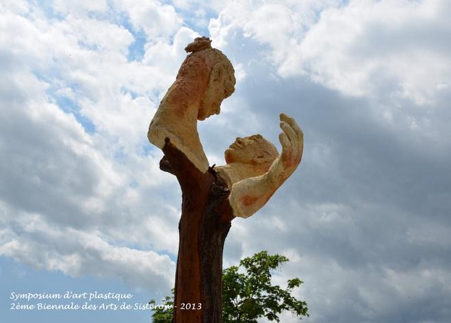 Symposium d'art plastique de Sisteron 2013 - Mireille BELLE - Arbres Vivants