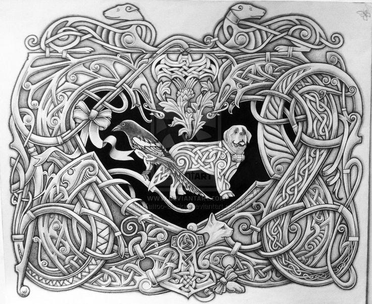Celtic Emblem by Tattoo-Design