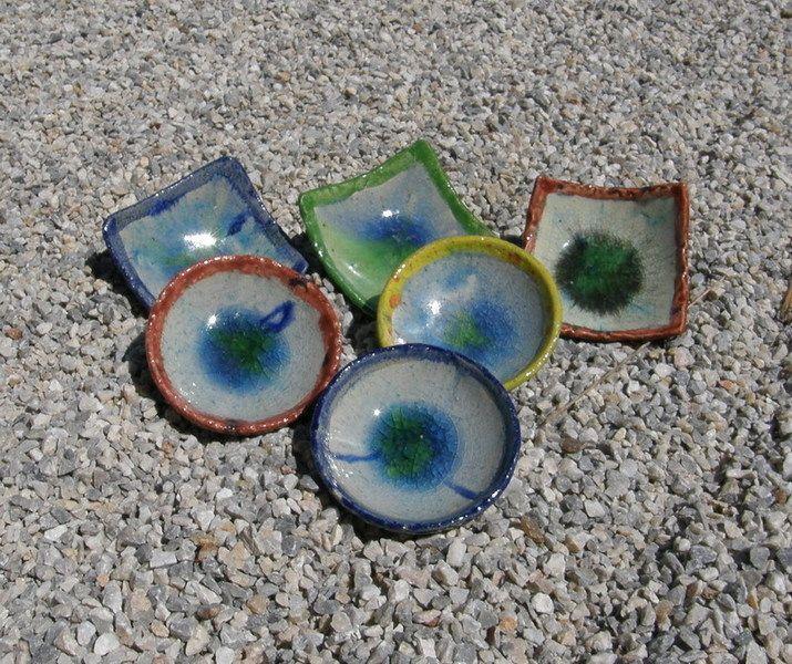 Deko-Objekte - Unikat Keramik-Schaelchen - ein Designerstück von SonnenRegenschein bei DaWanda