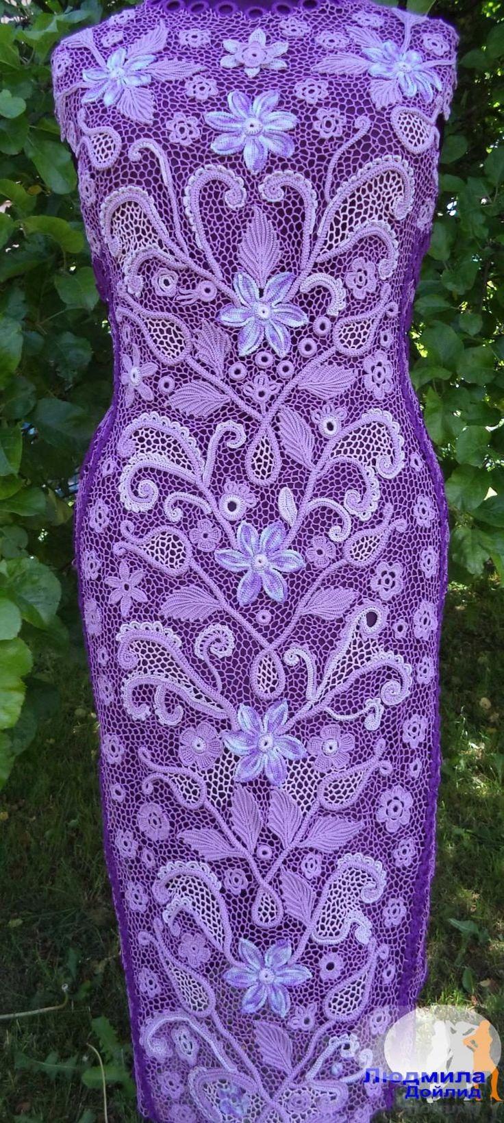 Прекрасное платье ирландским кружевом от Людмила Дойлид. Обсуждение на…
