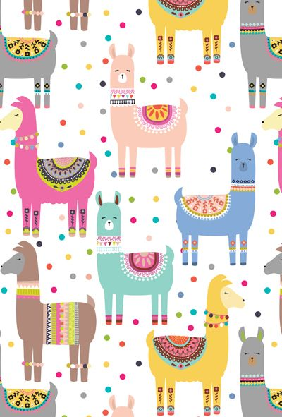 Cute Llama Wallpapers Book Paper Love Pattern Llama Pictures Llama Print