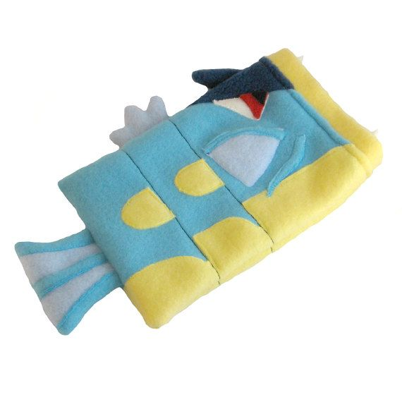 Gyarados Pokemon Nintendo DS case pouch fleece camera carrying case 3DS / DSi / DS Lite / PSP holder on Etsy, $30.00