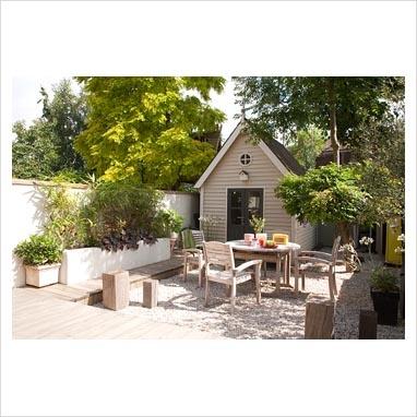 A Pretty Summerhouse U0026 Patio