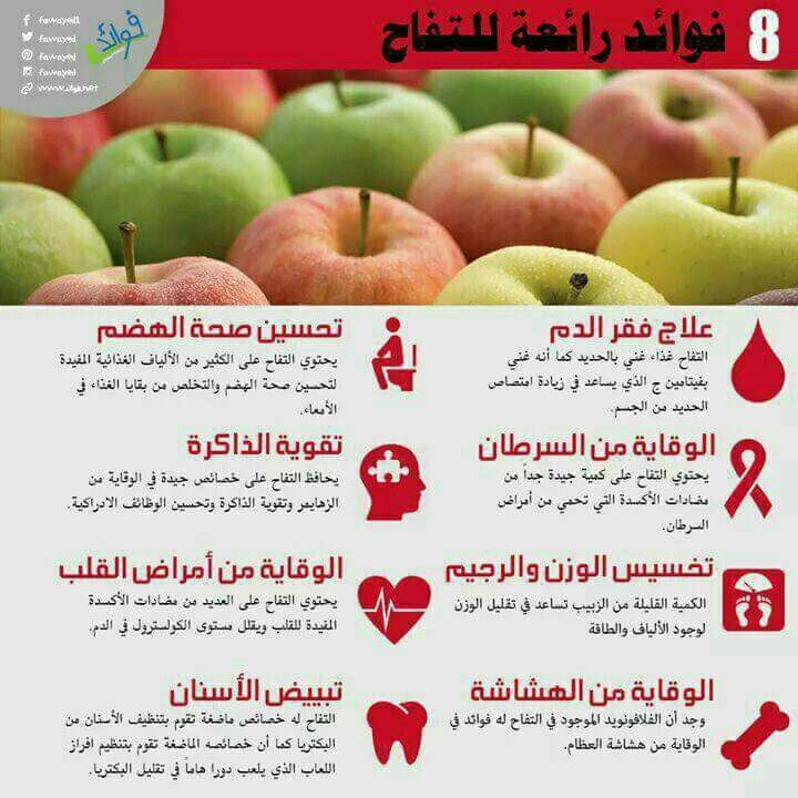 Pin By Rami R Rmlawi On صحة وغذاء Food Apple Fruit