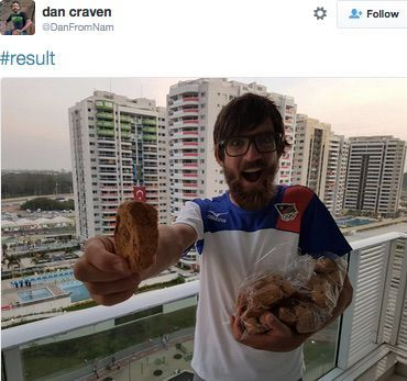 Olympic cyclist 'live-tweets' his whole race     - CNET  Technically Incorrect offers a slightly twisted take on the tech thats taken over our lives.  Enlarge Image  Hes a tweeter. Hes a winner.                                              Dan Craven; Twitter screenshot by Chris Matyszczyk/CNET                                          I knew the headline was true because it was on Twitter.  More precisely it was on the official Twitter Sports feed.   It read Namibian#Olympics  cyclist…