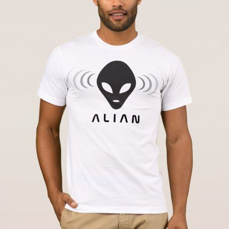 Alien Men's Basic American Apparel T-Shirt - tap, personalize, buy right now!