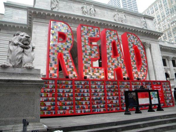Installation: 25,000 Dr. Seuss Books