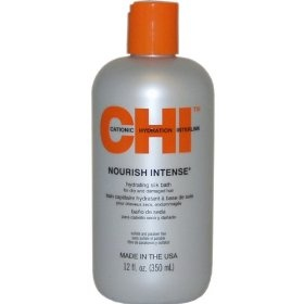 CHI Nourish Intense Hydrating Silk Bath Hair Shampoos, (chi, chi infra, chi shampoo, beauty, chi infra shampoo, curly hair, dry hair, frizzy hair, hair care, moisturizing)
