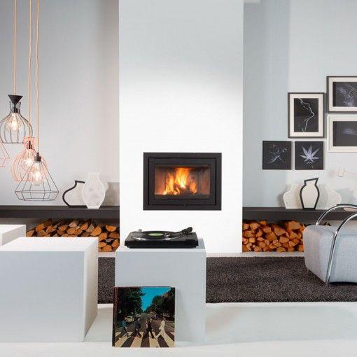 Wanders Smart 75 - Wood Burning Fireplace Insert