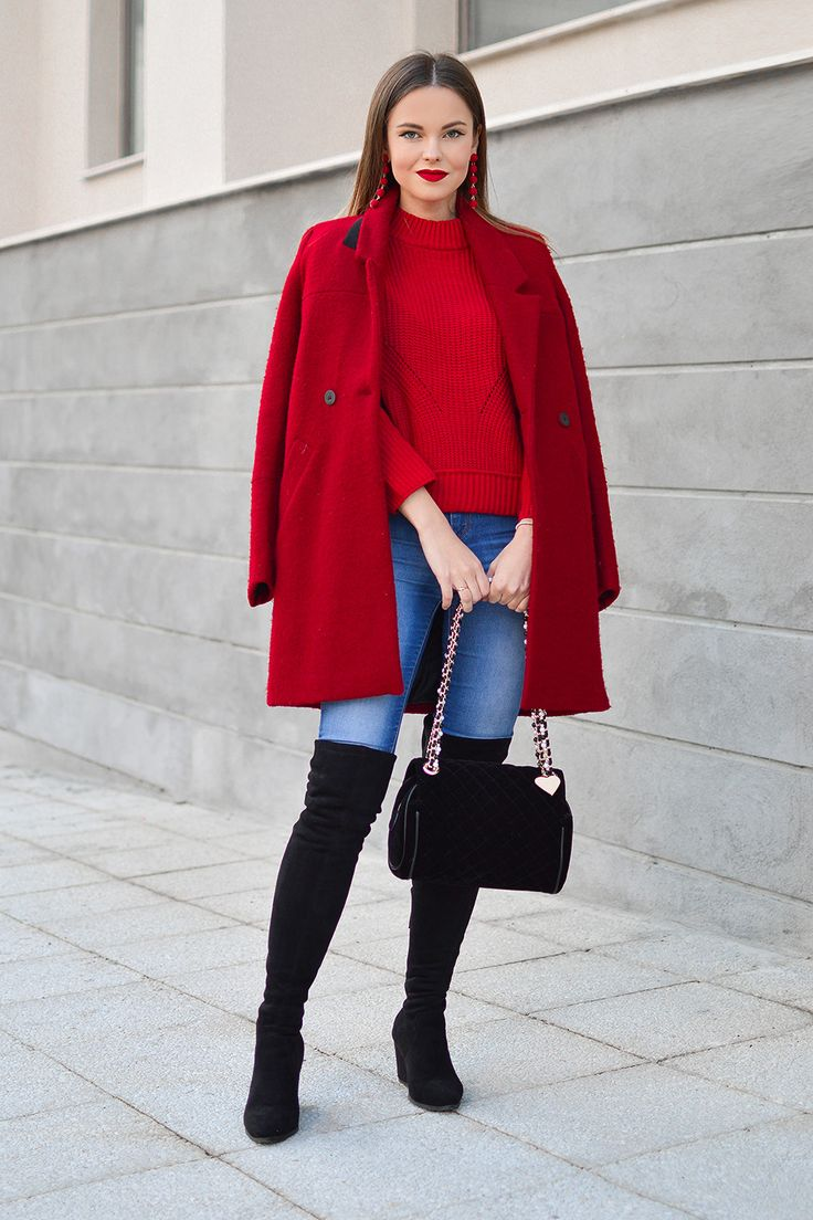 How To Wear Red This Fall on Shiny Honey Blog by Tamara Bellis Fashion Blog