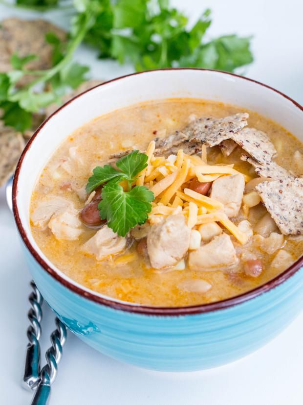 White chicken chili is one of my favorite soups at Taco Time restaurant. They make a really good one, plus it's made with healthy ingredients. I really wanted to recreate this soup at home, so that we can have it whenever. Chili is a comfort food, but at the same it's a healthy type of comfort, so long as you don't add too much cheese in the end. After that Super Bowl, some of us may need comfort. I am not a huge football fan, but after watching that game, being from Seattle, my heat sank. I…