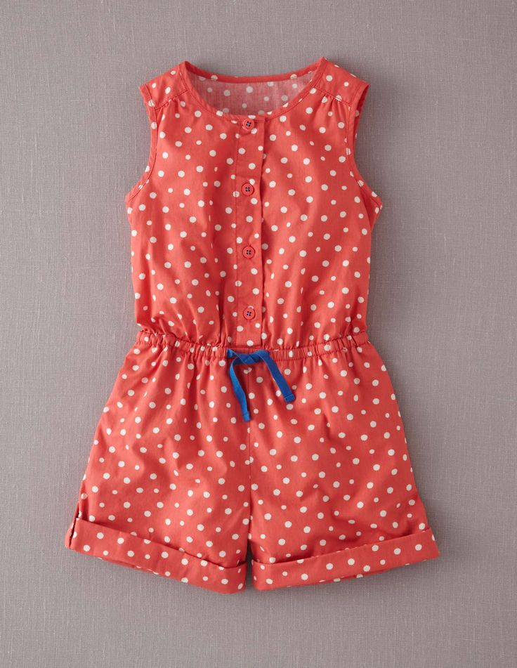 Spotty Playsuit 32485 Shorts at Boden