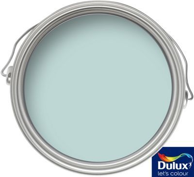 Dulux Once Mint Macaroon - Matt Emulsion Paint - 2.5L | Homebase