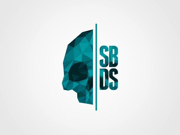 SBDS – Self Branding by Stian Bjoerhovde, via Behance. Self branding work by Stian Bjoerhovde found on Behance.net. When flicking through images I couldnt take my eyes off this piece the crystal effect on the half skull and the letters really original and strong draws you in very clean having it centre of the page with space and represents his studio in the way he wants it to be seen.