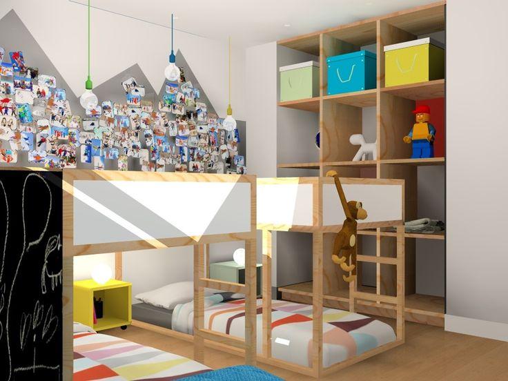 Chambre enfants apartement de vacances lit ikea image - Ikea chambre d enfants ...